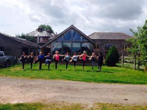 Yoga in Nature at Highfield