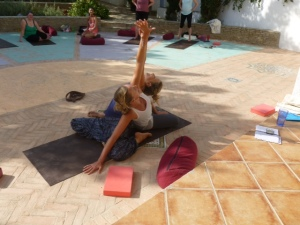 Yoga needn't be a solitary  practise - meet new people and share the love!