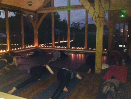 Yoga by Candlelight
