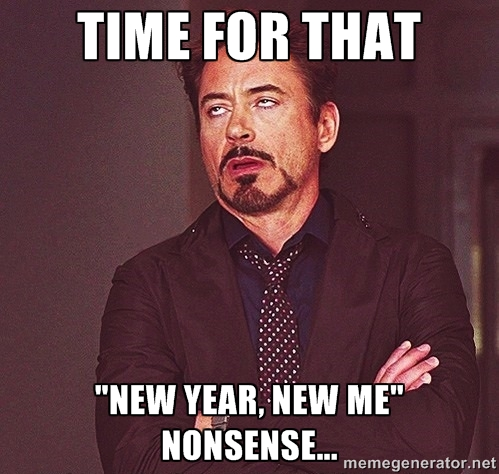 new year nonsense