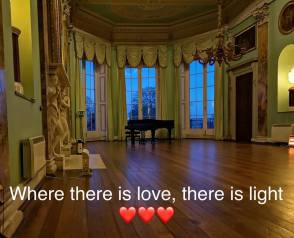 where there is love their is light