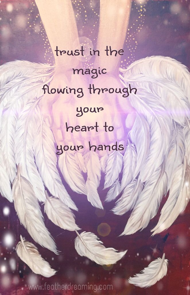 trust in the magic to hands